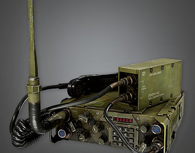 MLT - Military Long Range Radio - PBR Game Ready 3D model