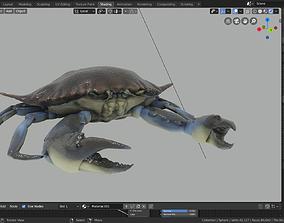 blue crab 3D