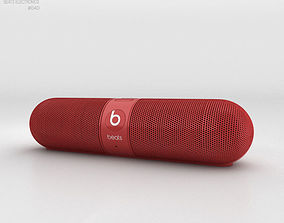 3D Beats Pill 2-0 Wireless Speaker Red