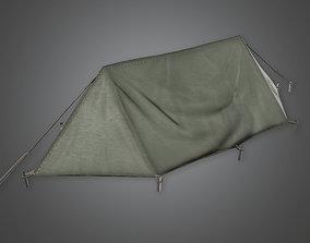 3D asset MLT - Military Tent 03 - PBR Game Ready
