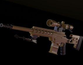 3D model Ballista bo2 sniper