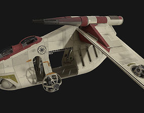 3D model PBR Star Wars - LAAT