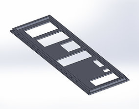 3D print model MSI X58 Big Bang - IO Shield -