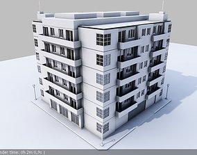 3D model City Building 01