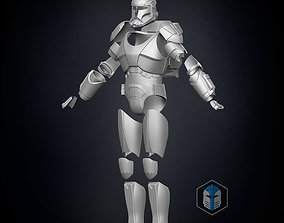 Republic Commando Armor 3D printable model