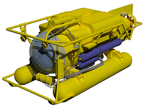 other 3D model Submersible