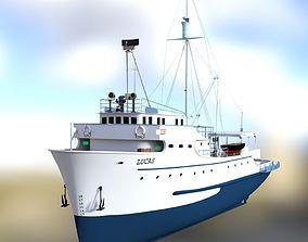 3D model Tuna Clipper for DAZ Studio