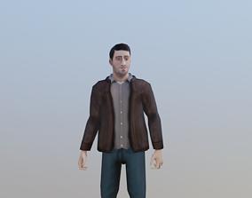 3D model Casual Male