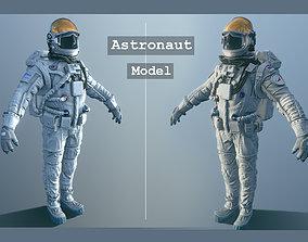 Astronaut 3D asset