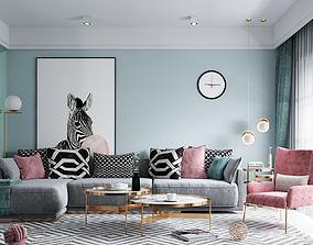 3D model Scandinavian Style House - S24 - Idea