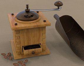 3D manual coffee grinder