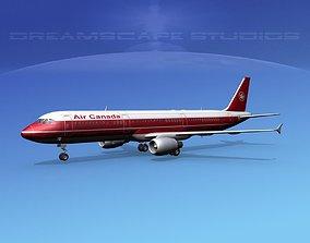 Airbus A321 Air Canada 1 3D model
