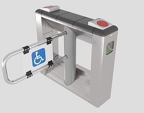 Disabled Turnstile 3D model