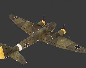 3D asset WWII Germany Ju88 Bomber Juncker Ju-88 Ju 88