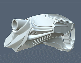 3D model Futuristic Handgun High Poly