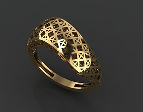 set 3D printable model GOLD RING