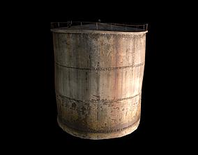 3D model Old Water Tank