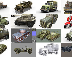 3D WWII Vehicle Pack