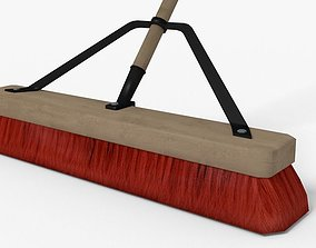 Push Broom 3D asset