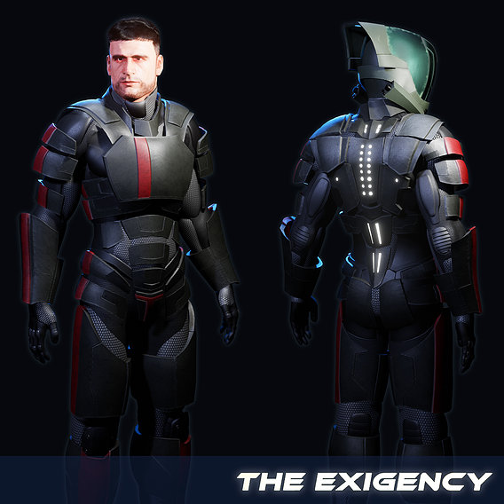 Soldier Suit / The Exigency's Kyle Burton