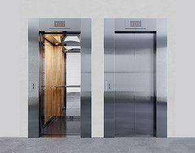 3D model PASSENGER ELEVATOR wood