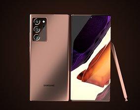 3D model Samsung Galaxy Note20 Ultra