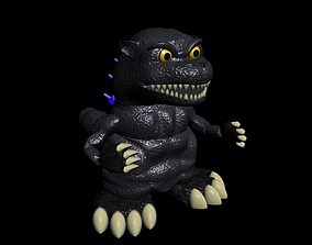 3D model Godzilla Toy