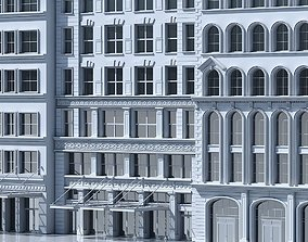 Commercial Building Facade 14 3D model