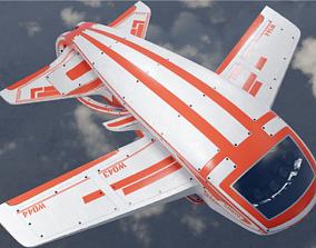 Aircraft punk 3D model VR / AR ready