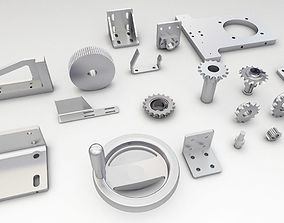 3D model Engineering Parts V2