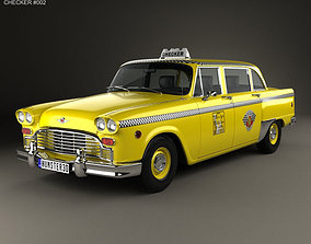 Checker Marathon A12 Taxi 1978 3D