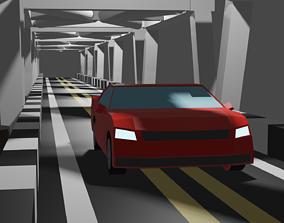 Road bridage blend file 3D print model