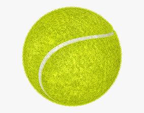 3D tennis grass Tennis ball