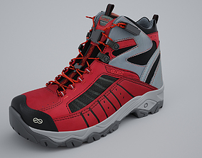 3D model EWEST Mountainhiking boots