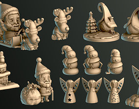 Christmas Pack 3D print model