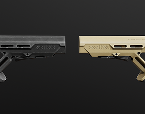 Strike Industries Viper Mod1 AR15 Collapsible 3D asset