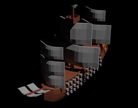 3D model Korsan Gemisi