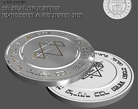 3D print model 5th Seal of Jupiter