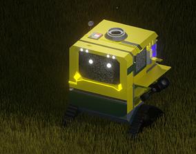 3D asset Cute Robot