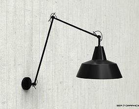 3D model modern Wall lamp Its About RoMi Chicago