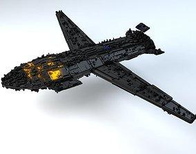 The Nightcrawler - Space Breaker Version 3D model