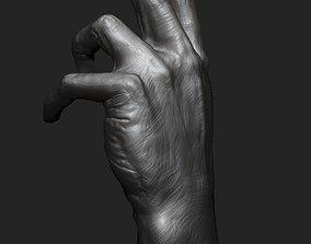 3D model Hand study