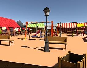 3D asset Play ground
