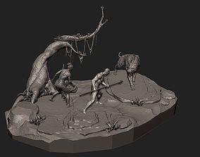 3D print model FAMILY X TIGER