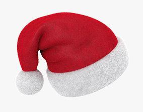 Santa hat VrayFur 3D model