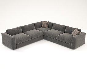 3D Dement corner sofa