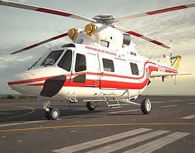 3D model PZL W-3 Sokol w-3