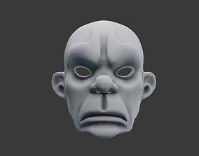 3D printable model Joker Mask Dark Knight