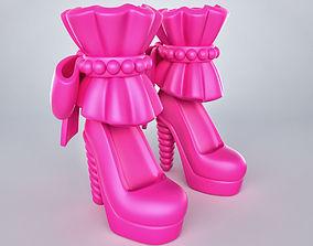 Barbie Heels 3D