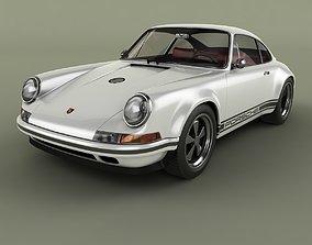 Singer Porsche 911 3D model